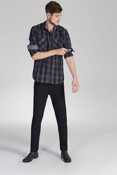 Picture of DIEGO X BLACK WASH TROUSERS