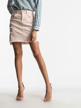 Picture of INNIE ASHY PINK WASH SKIRT