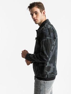 Picture of SANTINO Y BLUE CAMOUFLAGE WASH JACKET