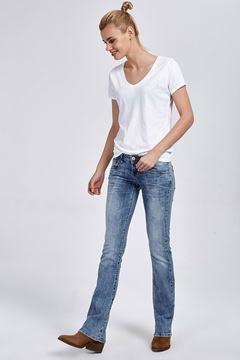 Picture of VALERIE AURRA WASH TROUSERS