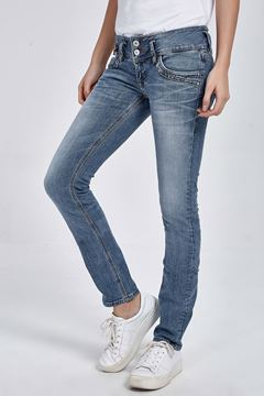 Picture of JONQUIL ANSEL UNDAMAGED WASH TROUSERS