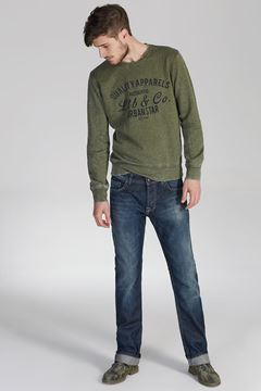 Picture of PAUL PERSEUS WASH TROUSERS