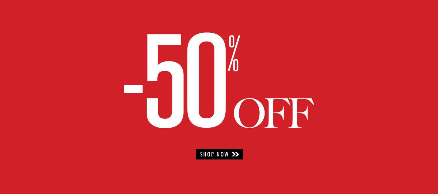LTB sale -50% collection banner