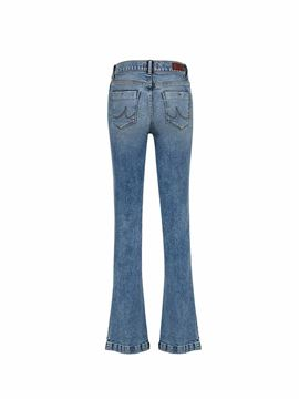 Picture of FALLON GAURA UNDAMAGED WASH TROUSERS