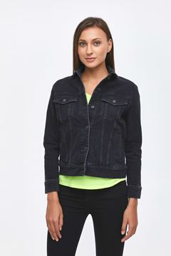 Picture of MONA BLACK TINT WASH JACKET