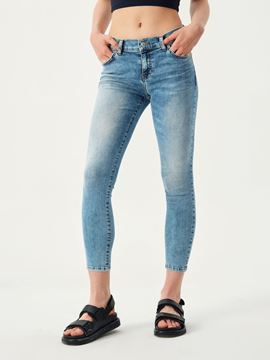 Picture of LONIA REETA UNDAMAGED WASH TROUSERS